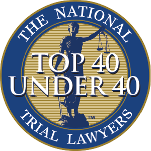 The National Trial Lawyers Top 40 Under 40 logo